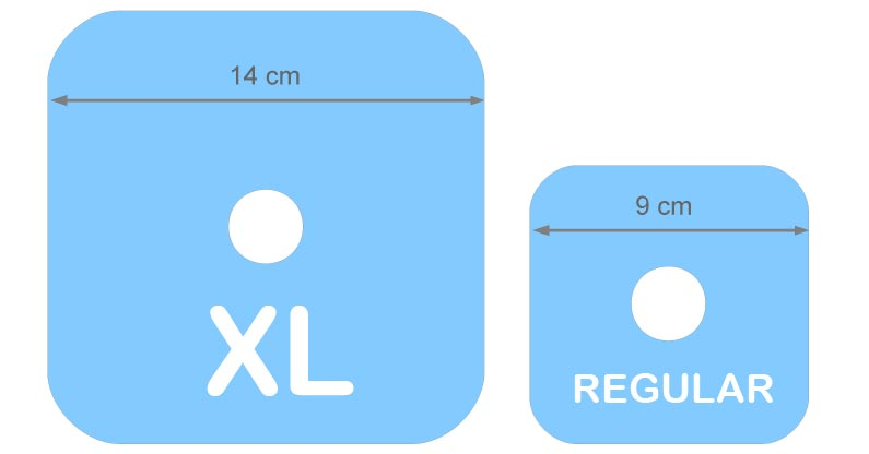 Image Patch Size XL & Regular